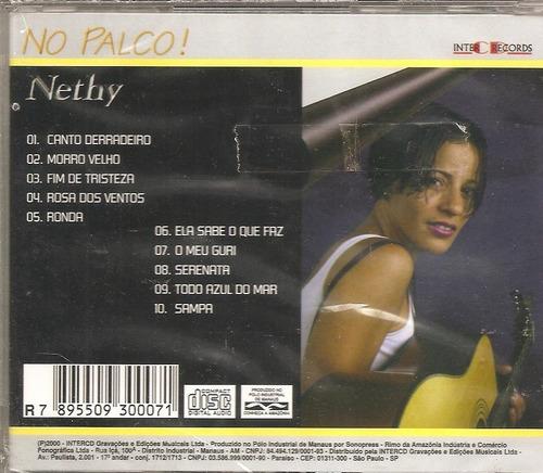 cd nethy - no palco -part adylson godoy, pianista e arranjos