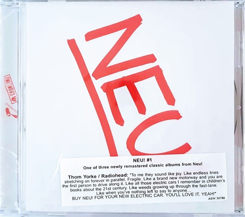 cd neu! #1 - importado lacrado de fábrica