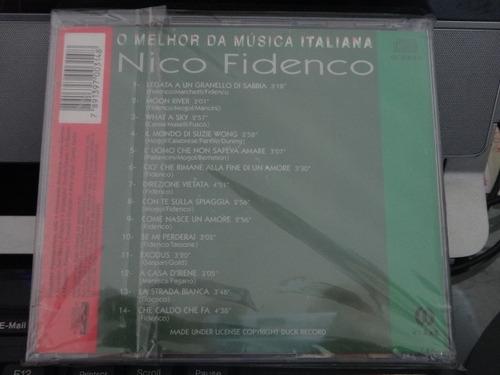 cd - nico fidenco - best of