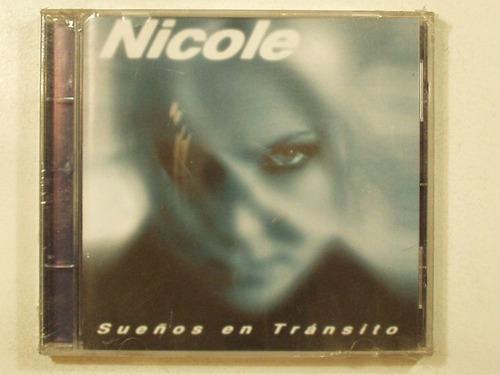 cd nicole sueños en transito 1997 en la ciudad de la plata