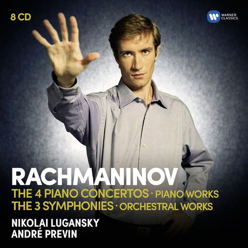 cd : nikolai lugansky - piano concertos /  symphonies...