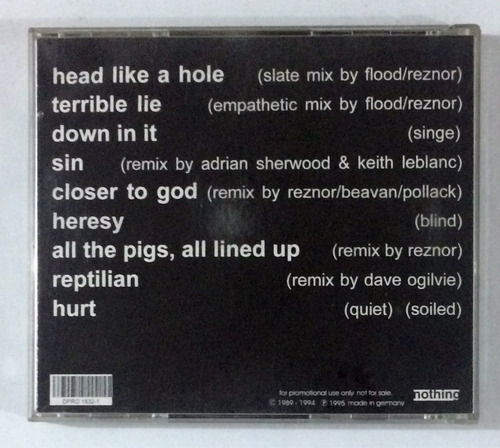 cd nin remixed