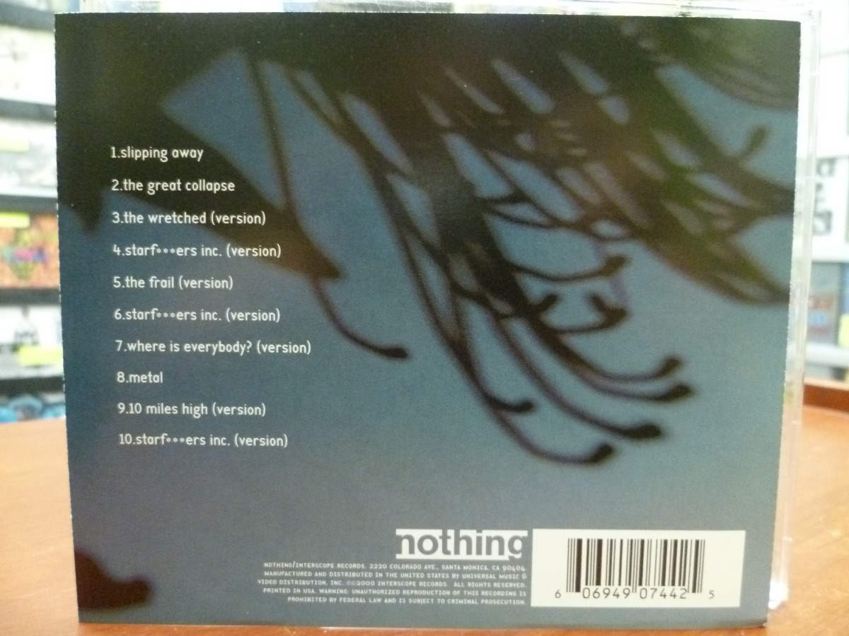 Cd Nine Inch Nails - Things Falling Apart (top Music) Manson - S/ 29 ...