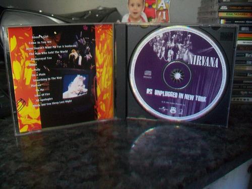 cd nirvana - mtv unplugged