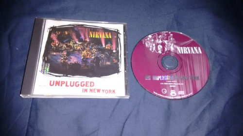 cd nirvana mtv unplugged cd,excelente titulo