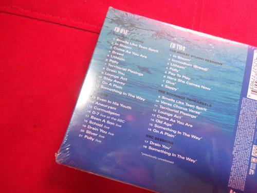 cd nirvana nevermind -aniversario 20 años - 2 discos - nuevo