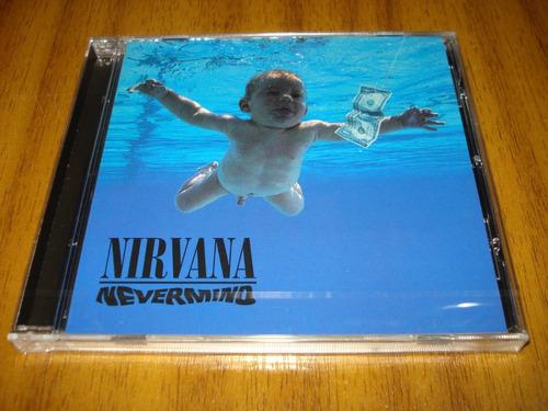 cd nirvana / nevermind (nuevo y sellado) europeo