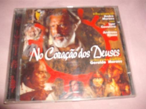 cd  : no coraçao dos deuses - trilha sonora    -   b222