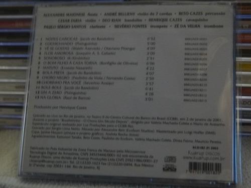 cd - noites cariocas - 15 anos depois - kuarup - raro