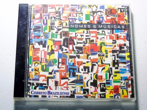cd nomes e músicas vários artistas correio braziliense