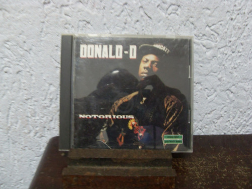 cd notorious - donald-d ( importado )