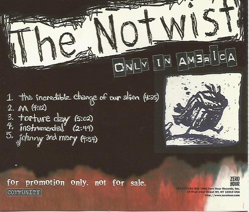 cd - notwist - only in america - importado