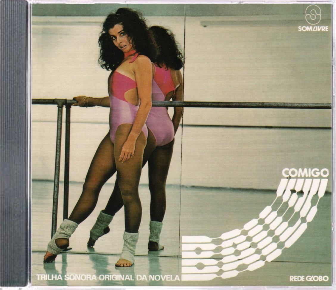 ea8471b80 Cd Novela Baila Comigo 1981 - Vale A Pena Ouvir De Novo - R  45