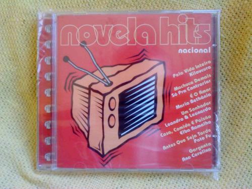 cd novela hits nacional coletânea 1 edição 1999 raro lacrado