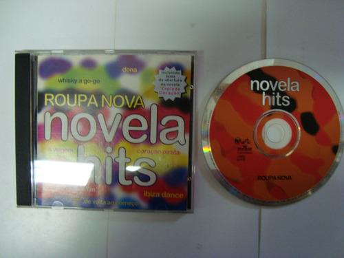 cd - novela hits - roupa nova