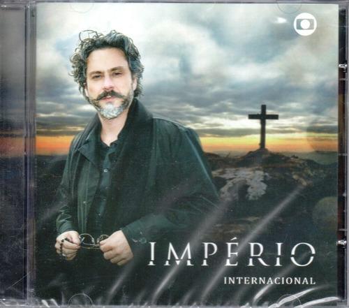 cd novela império internacional 2014 lacrado original raro