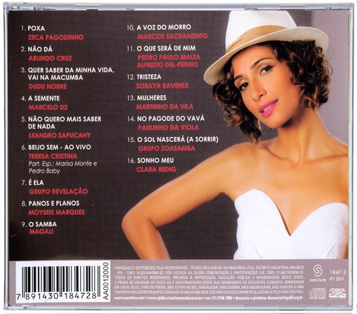 cd novela insensato coração samba 2011