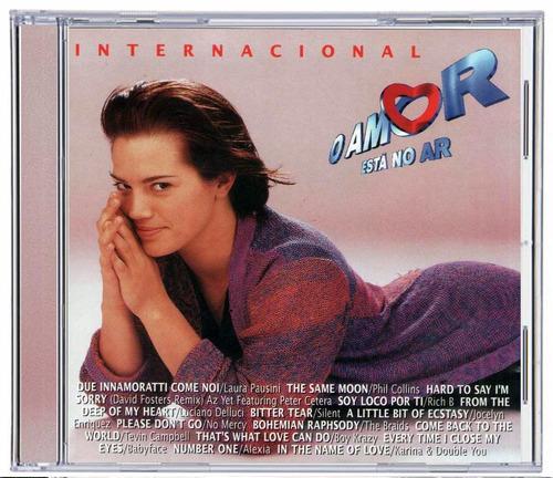 cd novela o amor está no ar  internacional 1997