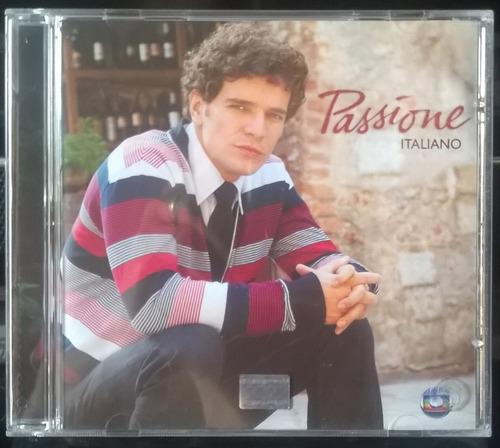 cd novela passione - italilano - cd nunca usado!