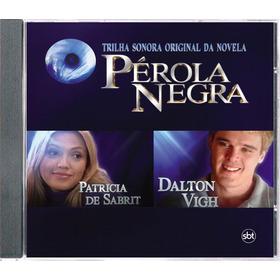 Cd Novela Pérola Negra 1998 Sbt - Série Colecionador