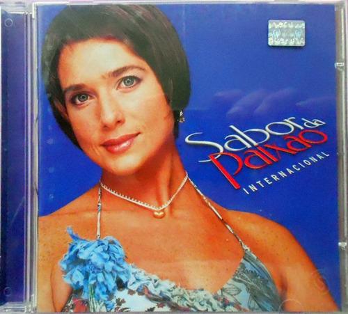 cd novela  sabor da paixão internacional 2002