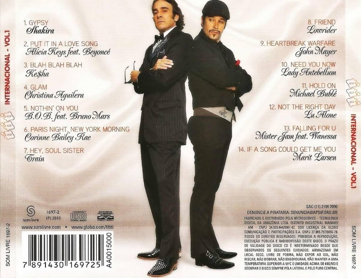 cd trilha sonora tititi internacional