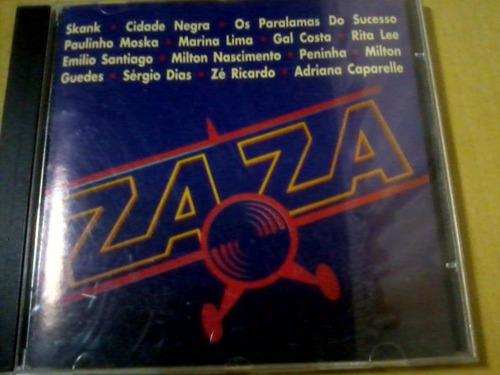 cd novela zaza nacional