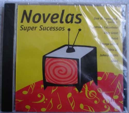 cd novelas super sucessos - frete grátis