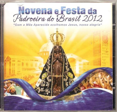 cd novena festa da padroeira do brasil - novo e lacrado b231