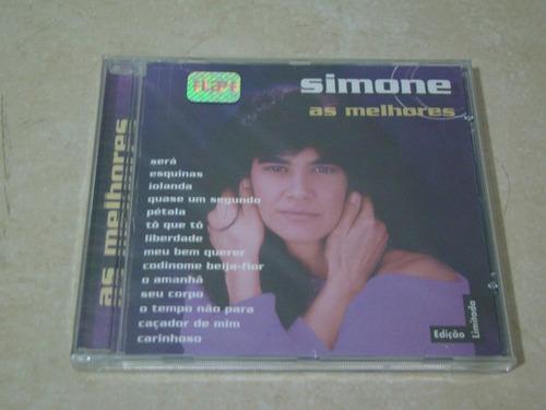 cd novo e lacrado - simone cd as melhores - edição limitada