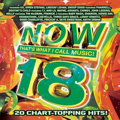 cd-now that´s what i call music 18-importado em otimo estado