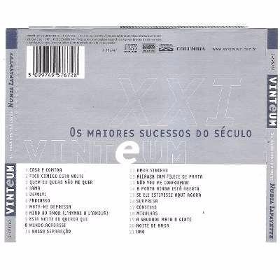cd - nubia lafayette: xx1 21 grandes sucessos