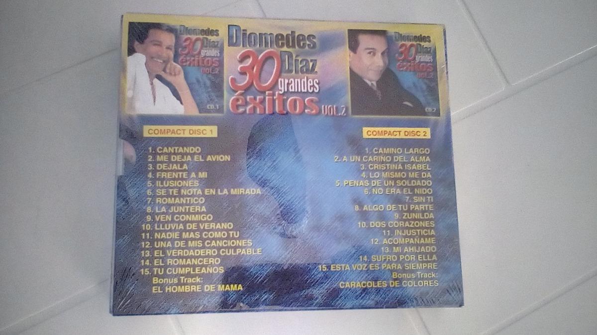 Diomedes diaz 30 grandes exitos vol 2 cd 1 disco completo