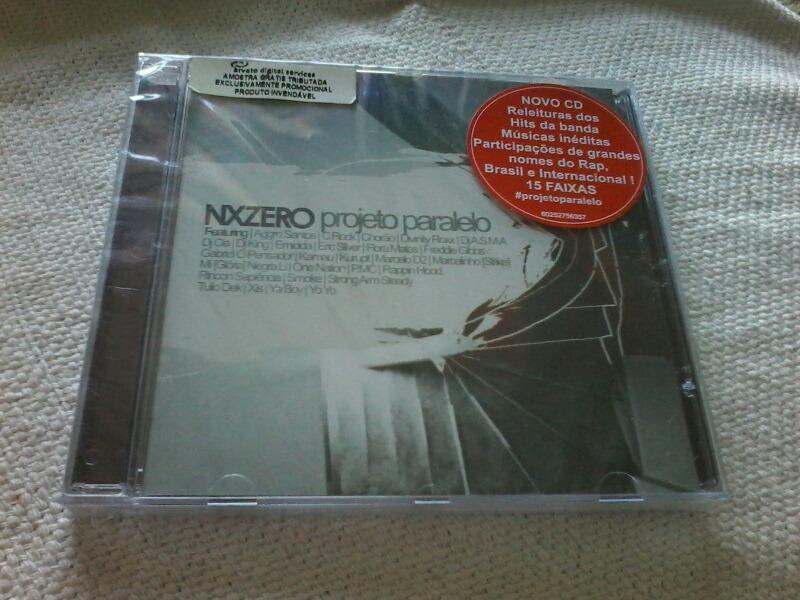 gratis o novo cd do nx zero projeto paralelo