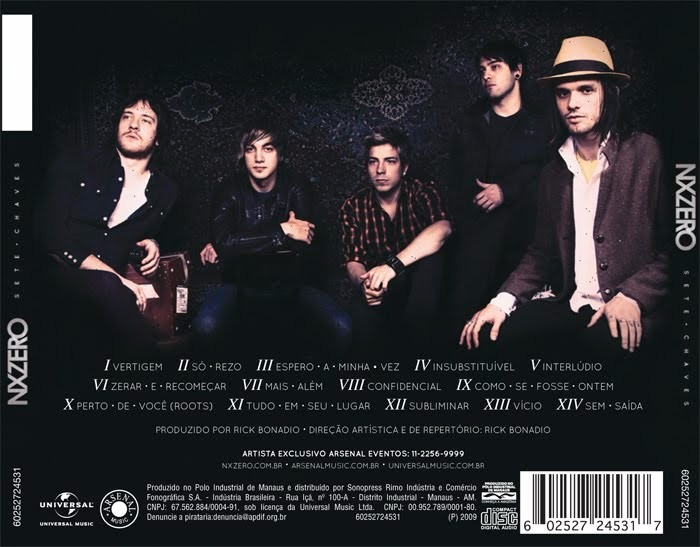 cd do nx zero 7 chaves