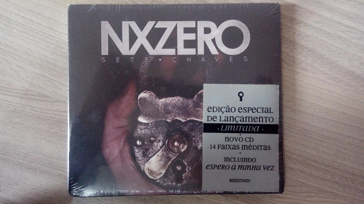 novo cd do nx zero sete chaves para