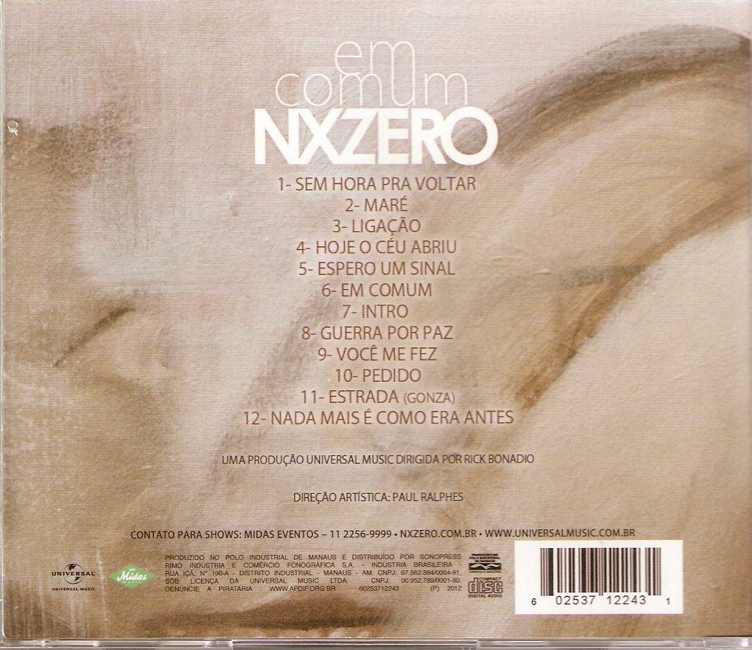 cd nx zero em comum