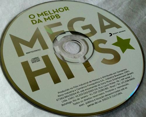 cd o melhor da mpb (mega hits)