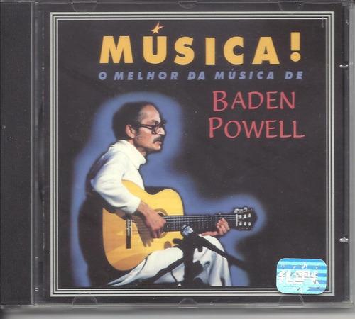 cd o melhor da música de baden powell