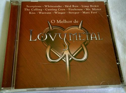 cd o melhor de lovy metal (hbs)