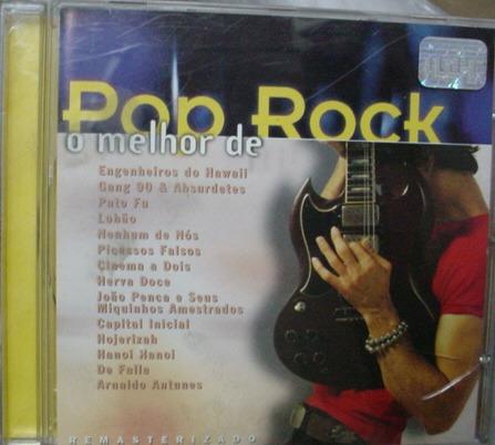 cd  o melhor do  pop  rock  nacional   - b178