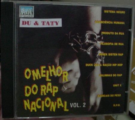 cd  o melhor do rap nacional 2   - b299