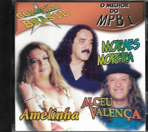 cd - o mrlhor do mpb - amelinha  - lacrado - f.gratis