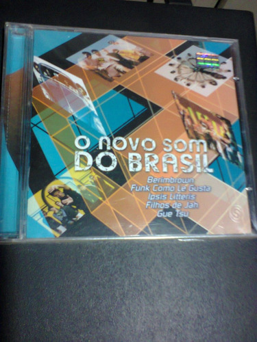 cd o novo som do brasil lacrado