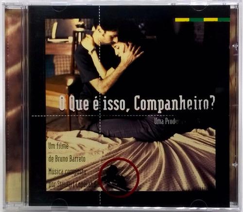 cd o que é isso companheiro 1997 trilha sonora do filme
