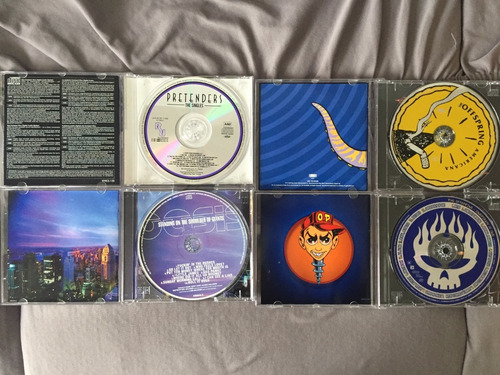 cd oasis / offspring / pretenders / rolling stones / u2