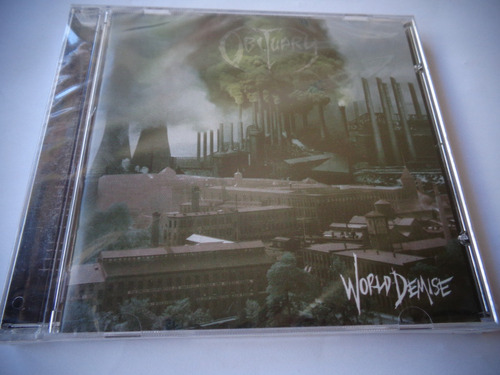 cd obituary - world demise (lacrado)