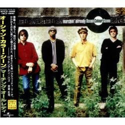 cd ocean colour scene - marchin´ already + 4 bonus (japonês)