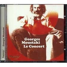 cd - oferta final - georges moustaki - le concert - raro
