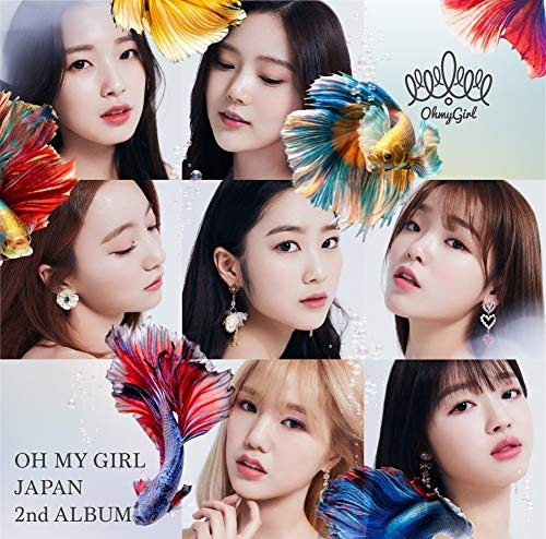 cd : oh my girl - oh my girl japan 2nd album (version b) (2.